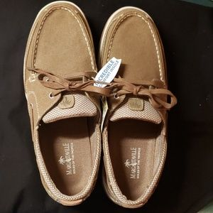 NWT Margaritaville Harpoon Lace Mens boat shoes